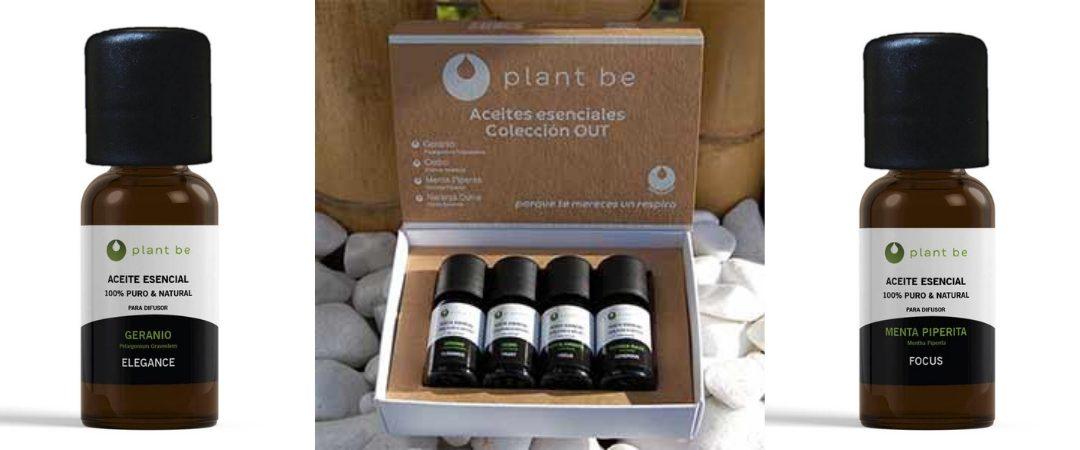 Iníciate en la aromaterapia con la colección OUT