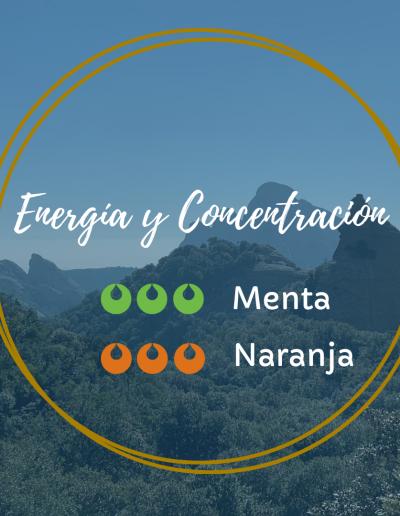 Energía y concentración