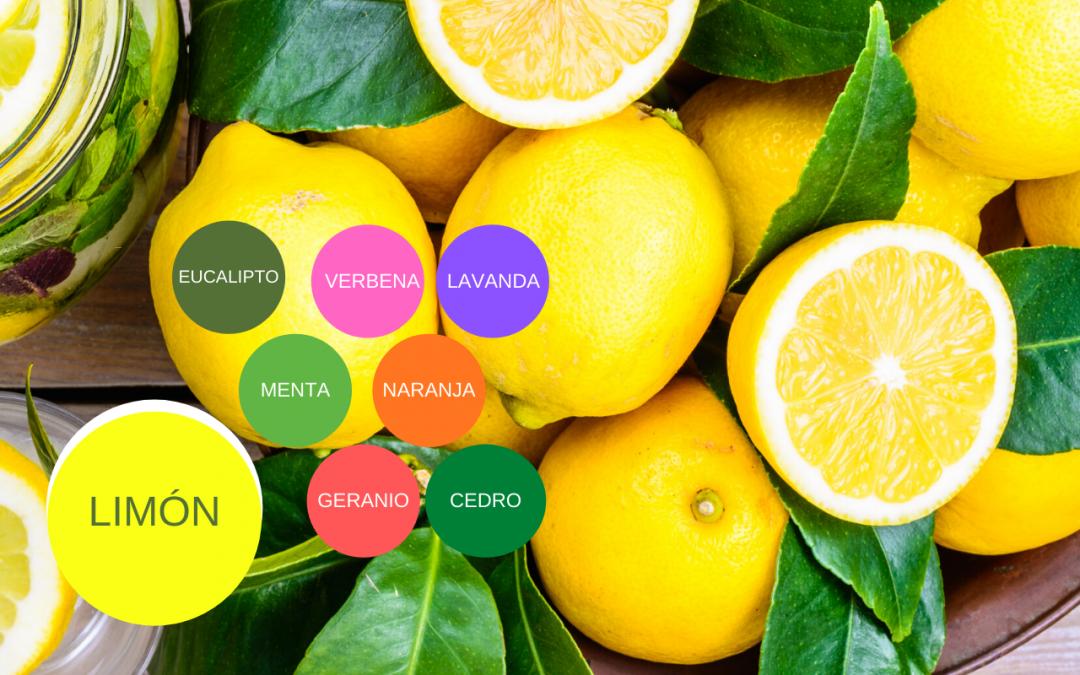 Aceite Esencial de Limón y llénate de Positivismo y Frescura